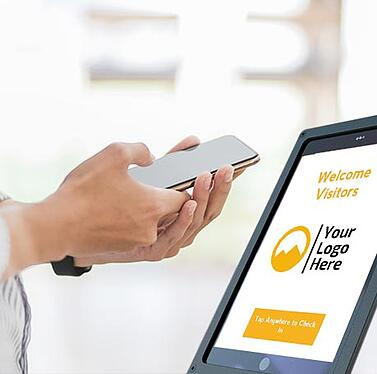 world's first touchless visitor management system