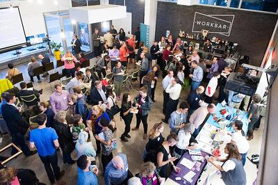Coworking networking event