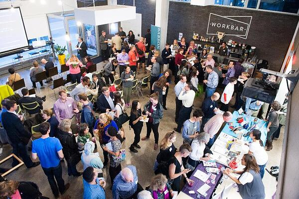 Coworking community event