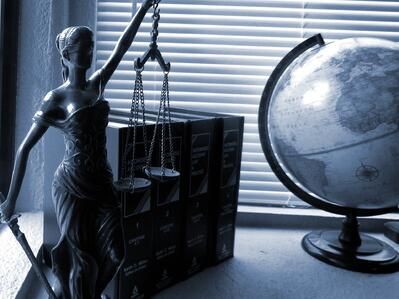 Lady Justice represents work-life balance