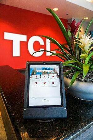 Visitor management system at TCL electronics