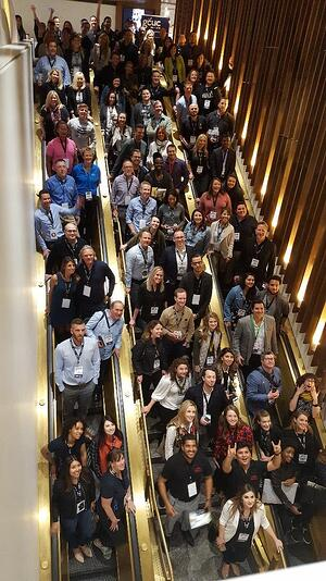 Attendees of the GCUC coworking industry conference
