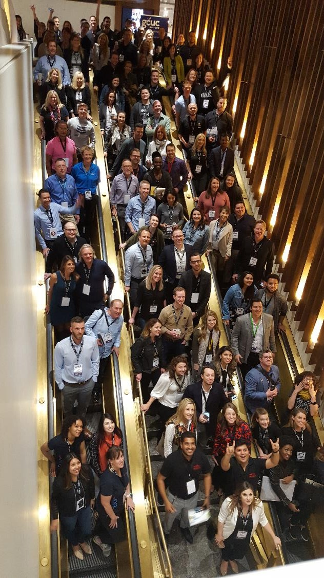 GCUC coworking conference attendees