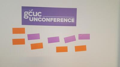 Selecting topics for the unconference