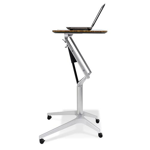 Sitting or standing work desk