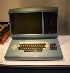 Old fashioned desktop computer