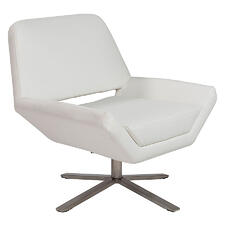 Elegant, modern swivel chair