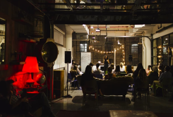 Coworking space for performing artists