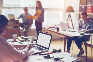 A visitor management system will reduce office distractions