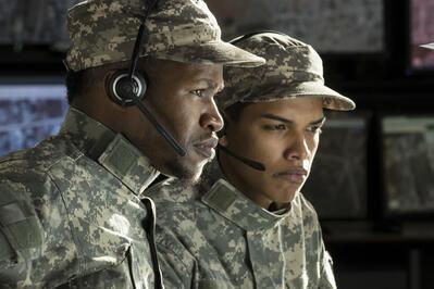 Airmen review security data