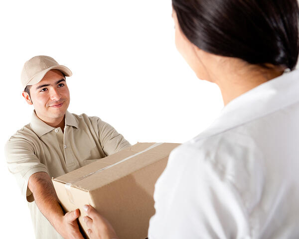 Deliveries are part of visitor management