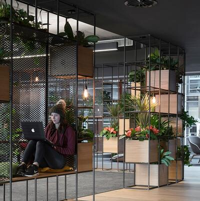 Modern office space design