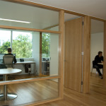 A closed office layout is best for employee productivity