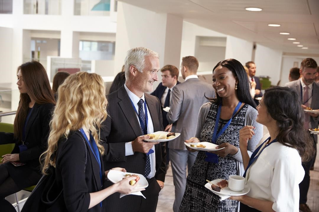 A strong company culture promotes internal networking